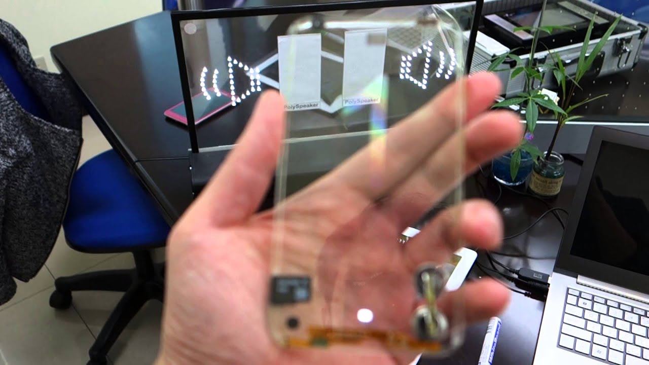Does Anyone Actually Want A Transparent Phone?