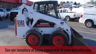 How to Safely Operate a Bobcat S185 Skid steer - JW Trucks Equipment Showcase