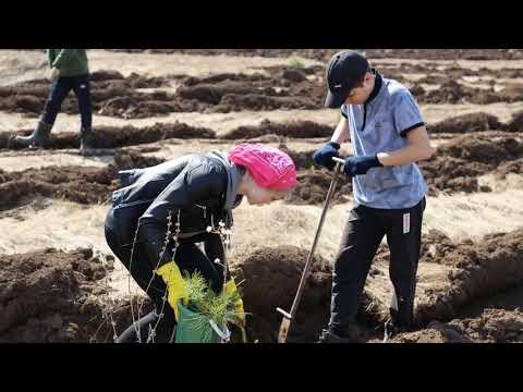 Республиканская акция #ЗеленаяБашкирия2019 в Гафурийском районе.  Посади дерево - подари жизнь!