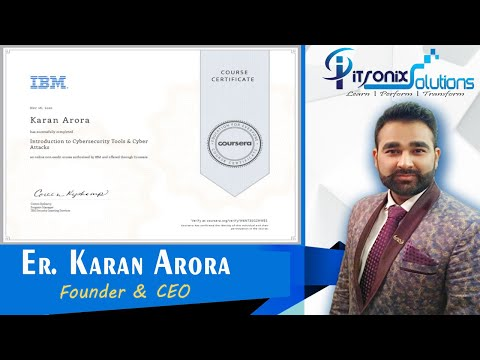 IBM Cybersecurity Analyst Professional Certificate on Coursera ...
