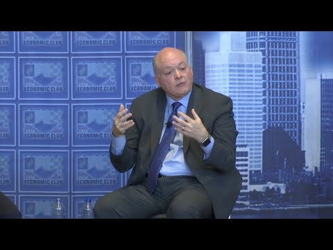 Ford CEO Jim Hackett says he is hoping for balance and stability in what is now an unstable tariff environment (April 9)