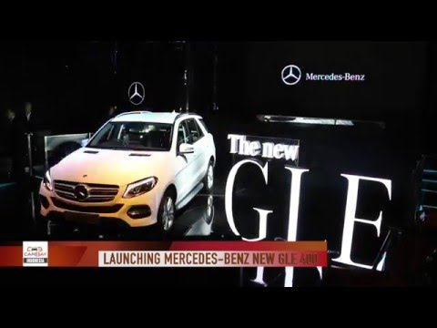 Mercedes Benz New GLE 400 2016 Launch