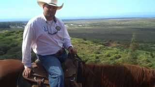 preview picture of video 'Lanai Horseback Riding'