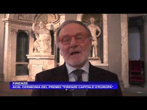 Preview video Premiazione Premio letterario Firenze capitale d´Europa 2016