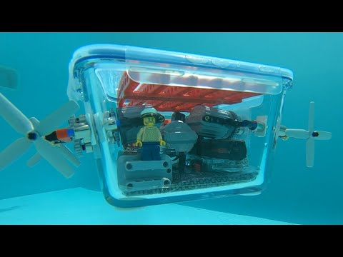 Building A LegoPowered Submarine 20