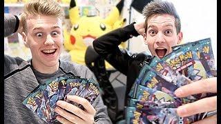 CRAZIEST Pokemon Card Challenge ft. Lachlan
