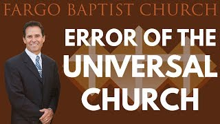 Tony Scheving - Error Of The Universal Church