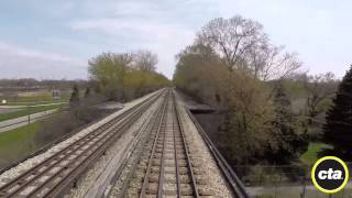 CTA Ride the Rails: Yellow Line to Howard in Real