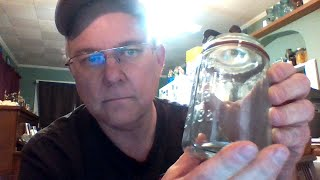 $1000 Fruit Canning Jar. The Van Vliet Pint