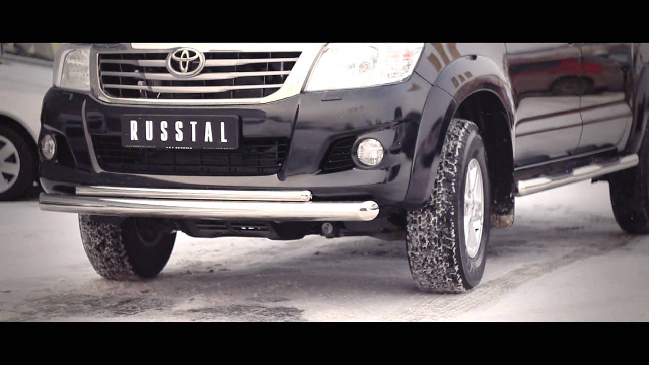 Изобретен обвес на Toyota Hilux www.russtal-group.ru