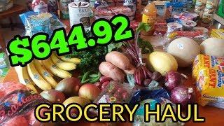 SHOPPING HAUL - Aldi, Walgreens, Costco and Meijer!! Over $600 !!