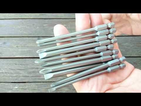 Набор бит для электроотвёртки / Electric screwdriver bit set