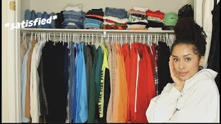 CLEANING OUT MY ENTIRE CLOSET | Closet declutter 2019