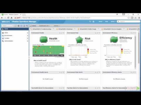 Learning VMware vRealize Operations Manager : Home Page ...