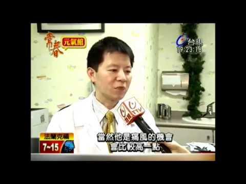 尿酸異常危險群下降到35歲