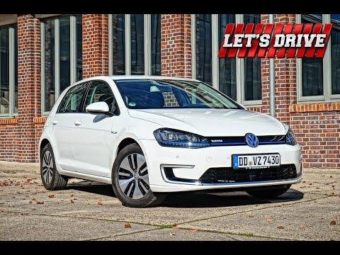 Fahrbericht Volkswagen E-Golf [2014]  | Test | Fahrbericht | Test Drive  // Let's Drive //