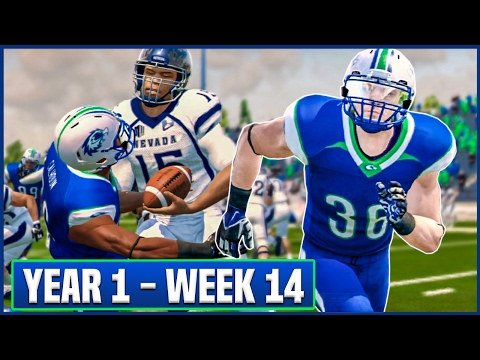 SENIOR DAY FINALE! | NCAA Football 14 Dynasty Year 1 - Week 14 vs Nevada | Ep.15