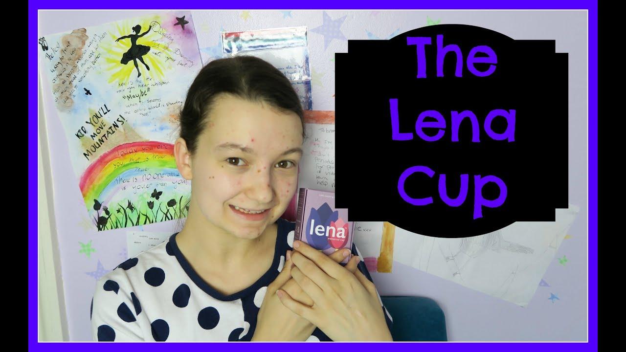 The Lena menstrual cup