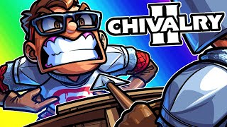 Chivalry 2 Funny Moments - We're Getting a Corpse Launch No Matter What!