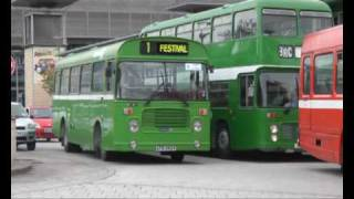 preview picture of video 'BRISTOL HARBOURSIDE BUS RALLY 2010'