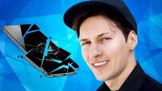 Против Павла Дурова восстали блогеры! Правда ли создатель ВК уничтожил телефон ютубера?