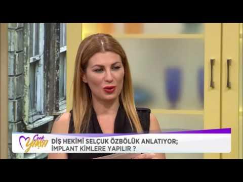 Dt. Selçuk Özbölük - Euro D - TV2 Çook Yaşa - İmplant Diş 2016