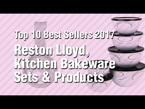 Reston Lloyd, Kitchen Bakeware Sets & Products // Top 10 Best Sellers 2017