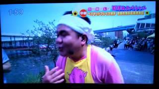 今日感テレビ、くまモンとゴリけんのカレ―作りだモン1