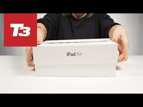 iPad Air unboxing. FIRST ON YOUTUBE!