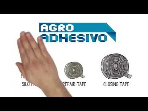 Agro Adhesivo: a close and reparation system for silo bags