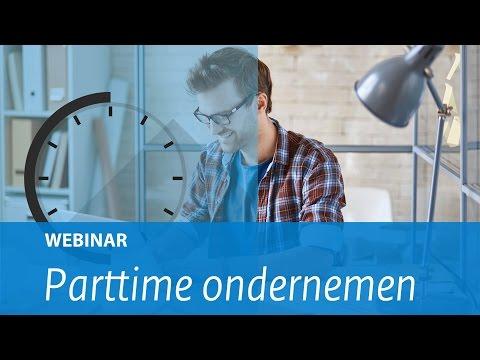 Webinar: Parttime ondernemen