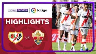 Rayo Vallecano 2-1 Elche Pekan 9