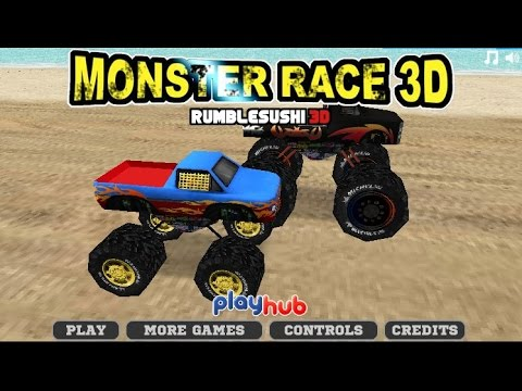 Monster Truck Race 3d Car Racing Games – games for kids .