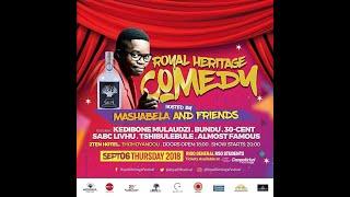 Mashabela Live Comedy 9t live 210 Hotel Sibasa