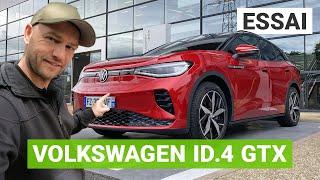 Essai Volkswagen ID4 GTX : sportive comme une GTI ?