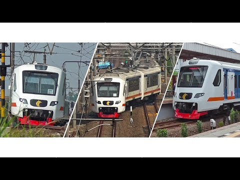 KA Bandara Soekarno Hatta Indonesia Airport Train Video Compilation