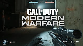 Call of Duty Modern Warfare 2019 RTX Gameplay - Gunfight (King) Night