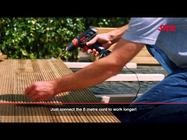 Video TALADRO ATORNILLADOR BATERIA SKIL 2461AA F0152461AA