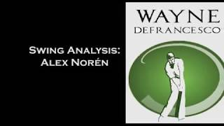 Alex Norén Golf Swing Analysis