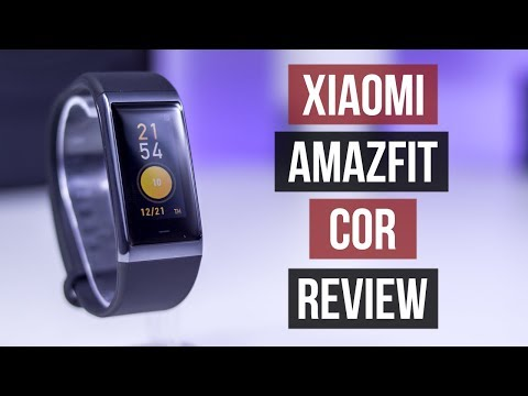 Xiaomi Amazfit Cor Review | MiDong A1702 | Mi Band Evolution