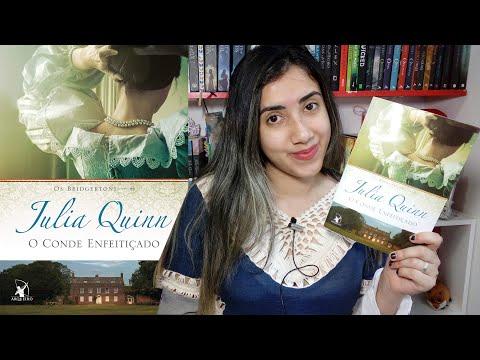 ?O Conde Enfeitiçado ? | Julia Quinn | RESENHA | Leticia Ferfer | Livro Livro Meu