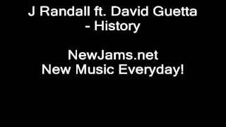 J Randall ft. David Guetta - History