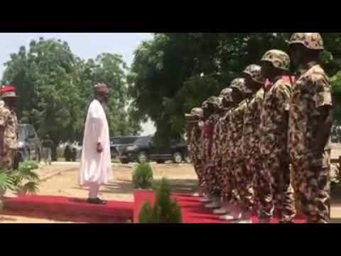 Buhari visits Maiduguri