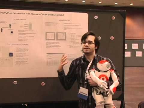 Image from 36. Using Python for robotics with Aldebaran's humanoid robot NAO.