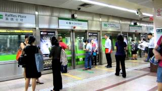SMRT C151 [023/024] Arriving Raffles Place (» Joo Koon)