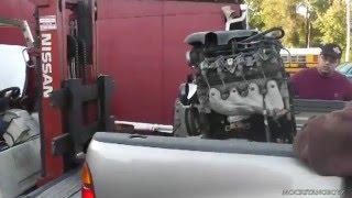 Lil Red 5.3 L33 Junkyard Engine prep