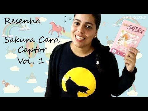 Resenha do mangá Sakura Card Captor vol. 1, da CLAMP