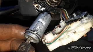 Replacing  ignition switch 1993 Chevy Silverado 4x4 1/2 ton