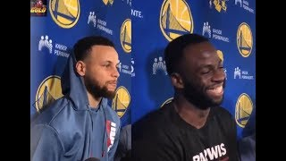 Steph Curry speaks on the beef between his brother and Draymond Green and More!