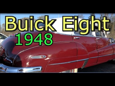 Buick Eight 1948 Old Classic V8 Car
